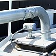Flexar guided wave radar level sensor measuring sand